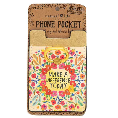 Make a Difference Phone Pocket Ring - Kitty Hawk Kites Online Store