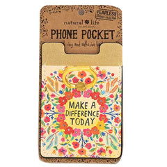 Make a Difference Phone Pocket Ring