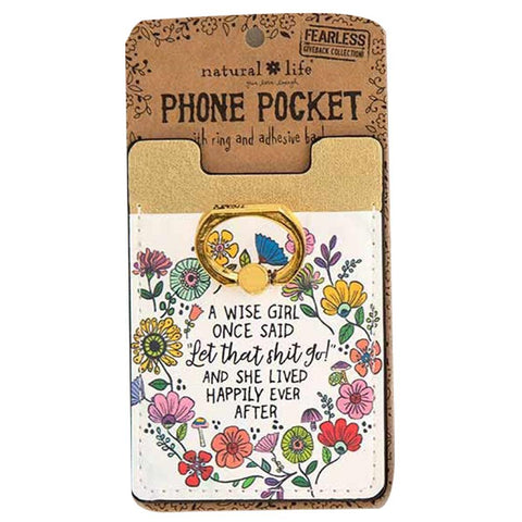 Wise Girl Phone Pocket Ring - Kitty Hawk Kites Online Store