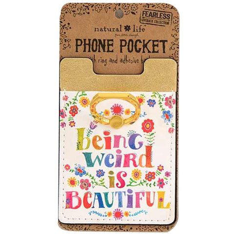 Being Weird Phone Pocket Ring