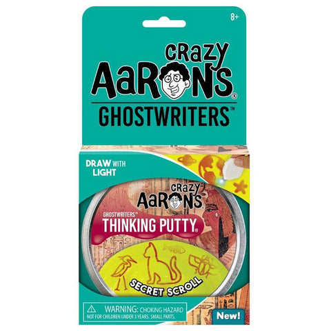 Crazy Aaron's Secret Scroll Ghostwriters Putty - Kitty Hawk Kites Online Store