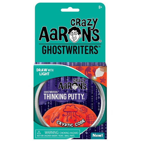 Crazy Aaron's Putty World Cryptic Code Ghostwriters Putty