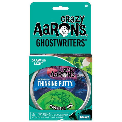 Crazy Aaron's Putty World Invisible Ink Ghostwriter Putty