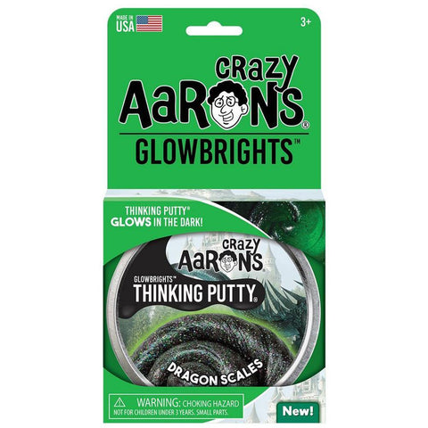 Crazy Aaron's Putty World Dragon Scales Glowbrights Putty