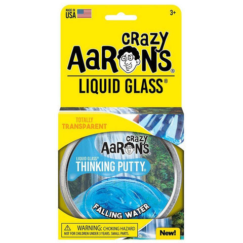 Crazy Aaron's Putty World Falling Water Liquid Glass Putty - Kitty Hawk Kites Online Store