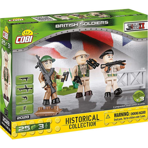 Historical Collection British Soldiers Toy