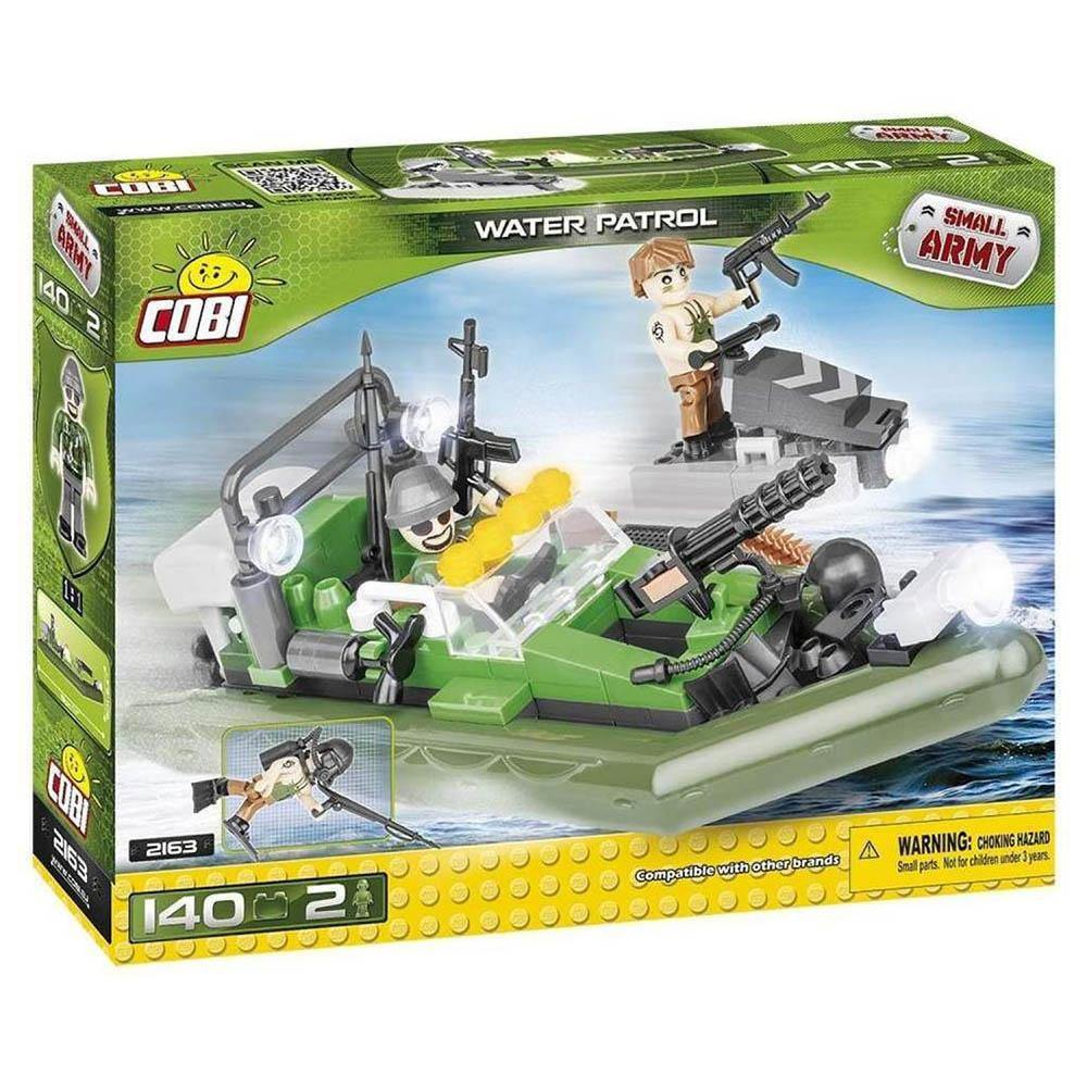COBI Toys Small Army Water Patrol Building Kit
