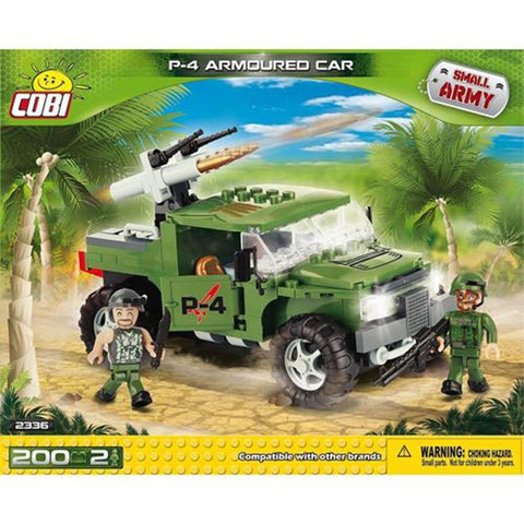 COBI Small Army P4 Armoured Car