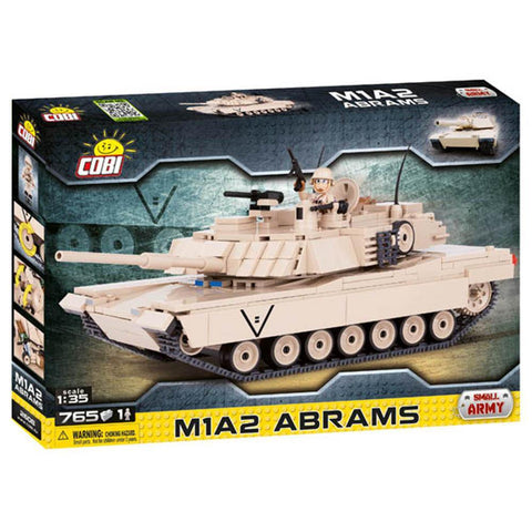 COBI Small Army M1A2 Abrams Tank - Kitty Hawk Kites Online Store