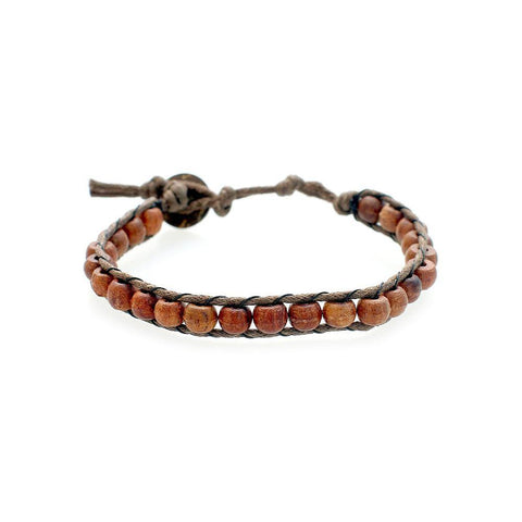 Dawn Patrol - Wooden Beaded Bracelet