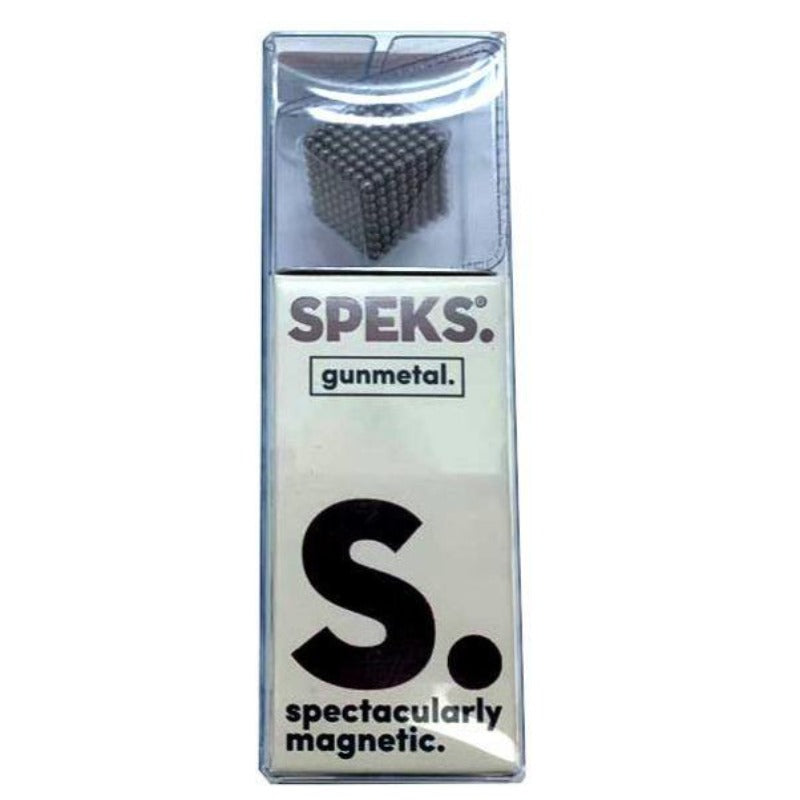 Speks Magnetic Balls - 512 Rare Earth Magnets (Gunmetal Grey) - Kitty Hawk Kites Online Store