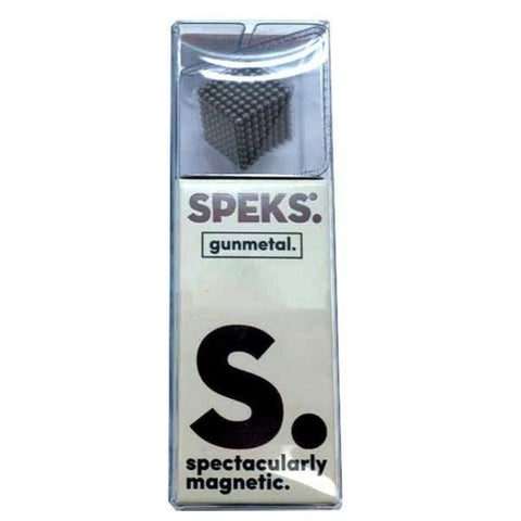 Speks Magnetic Balls - 512 Rare Earth Magnets (Gunmetal Grey)