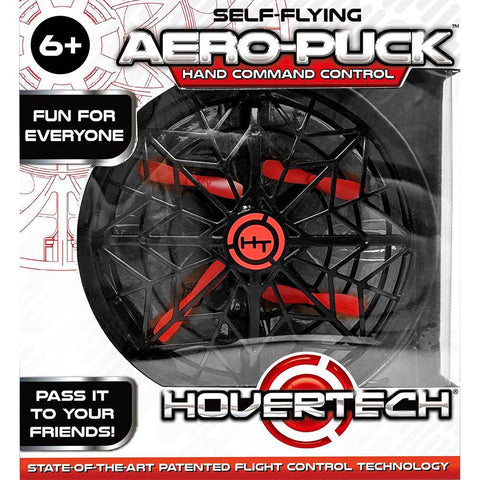 Aero-Puck™ the Indoor Self-Flying UFO Drone
