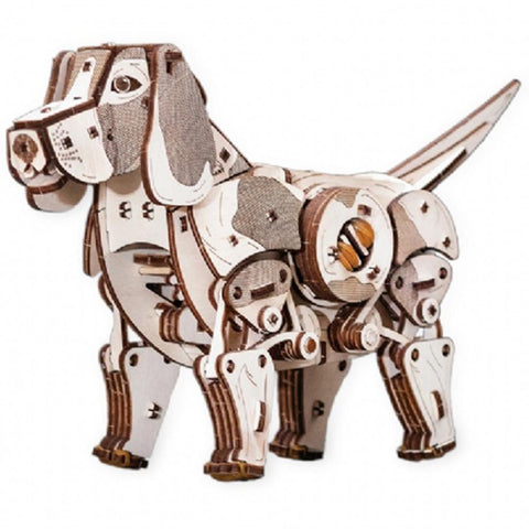 Eco Wood Art: Puppy Puzzle