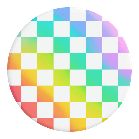 POPSOCKETS RAINBOW CHECKER POPSOCKET - 229419