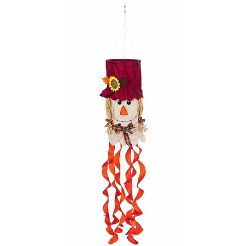 3D Mrs. Scarecrow Windsock