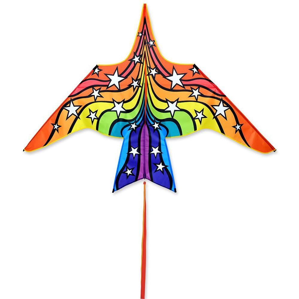 7 Foot Rainbow Stars Thunderbird