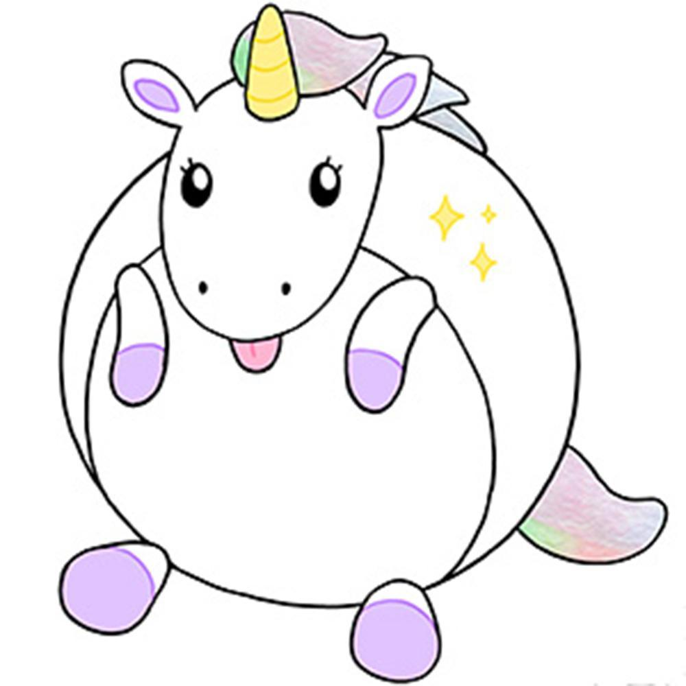"Mini Squishable 7"" Baby Unicorn"