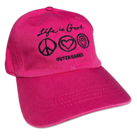 Chill Cap Outer Banks Peace Love LIG - Kitty Hawk Kites Online Store