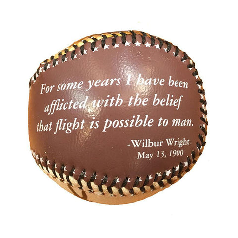 Wright Flyer Baseball - Kitty Hawk Kites Online Store