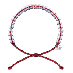 4Ocean Limited Edition Red Sustainable Fishing Bracelet