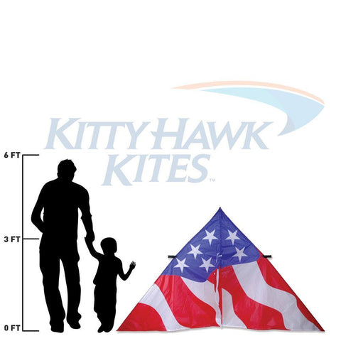 9 Foot Patriotic Delta Kite - Kitty Hawk Kites Online Store
