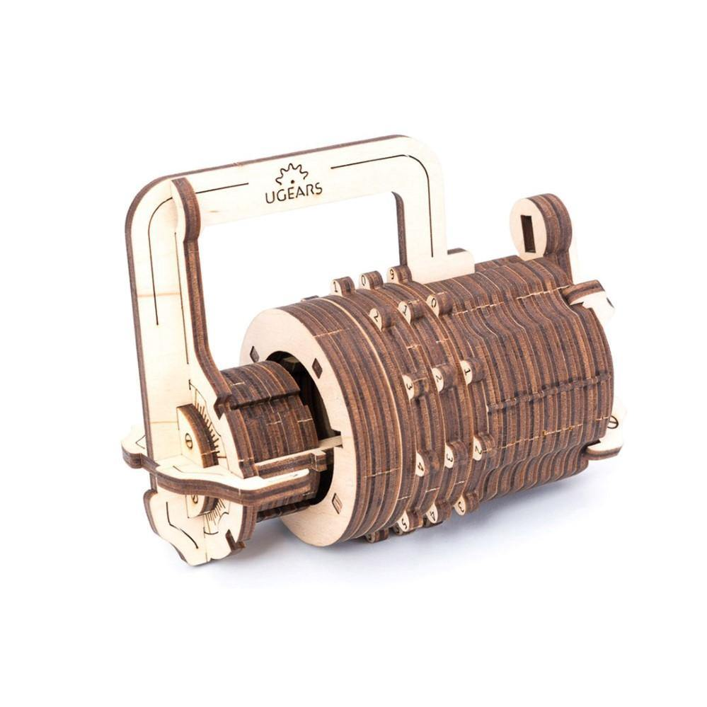 UGears Combination Lock Mechanical Model - Kitty Hawk Kites Online Store