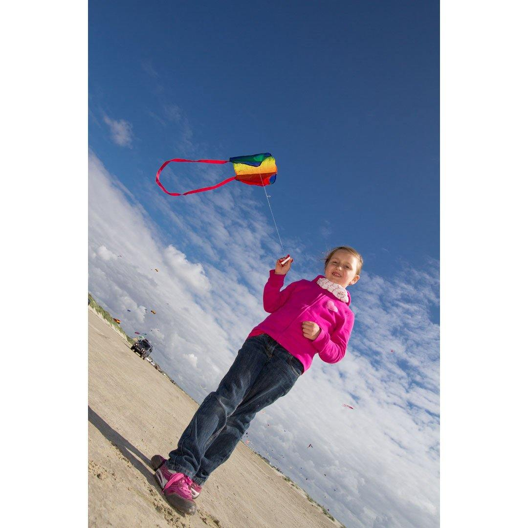KHK Rainbow Sled Kite in Backpack - Kitty Hawk Kites Online Store