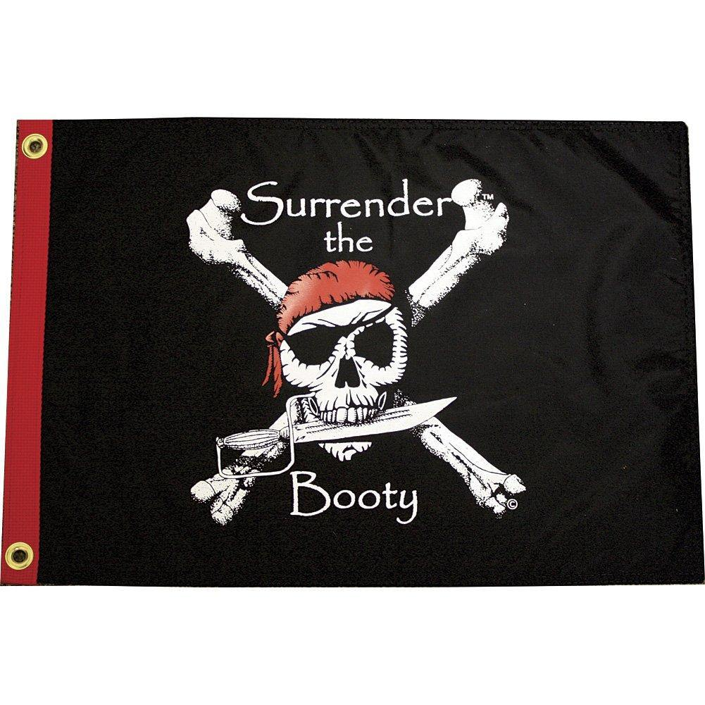 Surrender The Booty 12X18 Grommet Flag