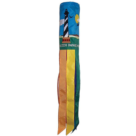 Outer Banks Lighthouse 40 Inch Windsock - Kitty Hawk Kites Online Store