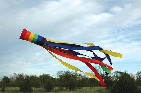 Rainbow 60 Inch Windsock - Kitty Hawk Kites Online Store