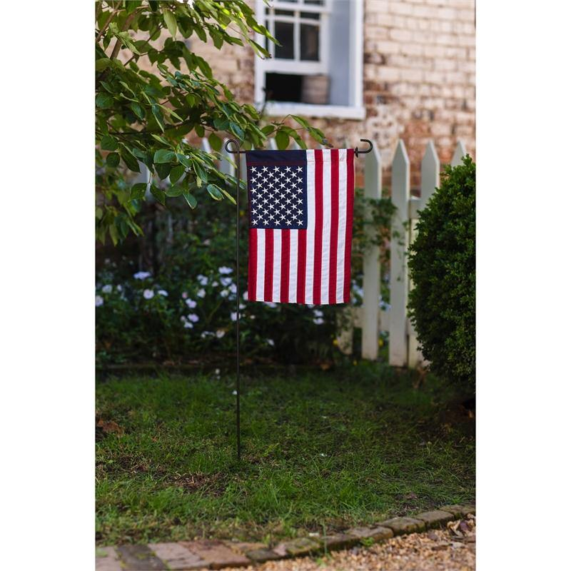 Embroidered American Garden Flag