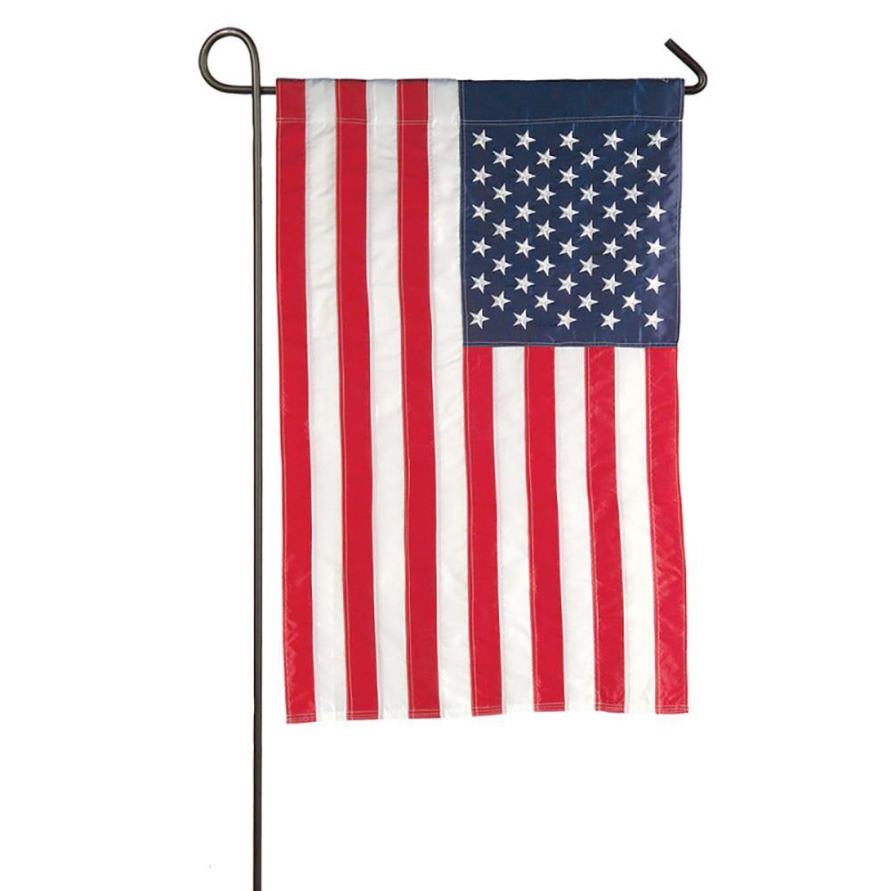 Embroidered American Garden Flag - Kitty Hawk Kites Online Store
