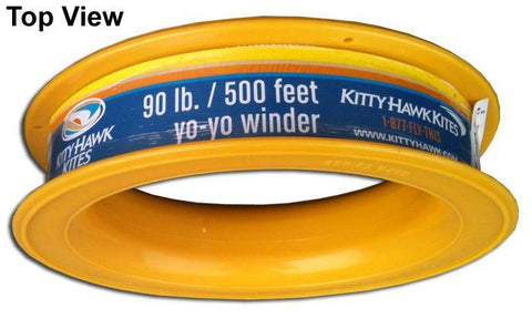 90 LB X 500 Foot Kite Line On Yo Yo Winder - Kitty Hawk Kites Online Store