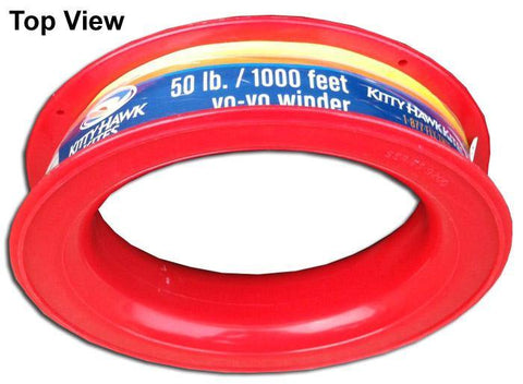 50 LB X 1000 Foot Kite Line On Yo Yo Winder - Kitty Hawk Kites Online Store
