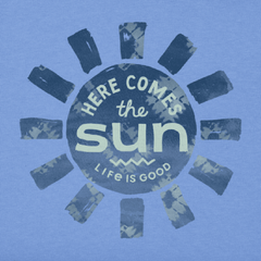 Women's Here Comes The Sun Crusher Tee - Kitty Hawk Kites Online Store