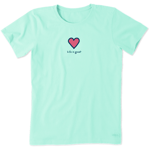 Women's Heart Vintage Crusher Tee