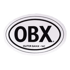 OBX Mini Oval Sticker