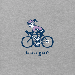 Women's Road Bike Jackie Vintage Crusher Tee