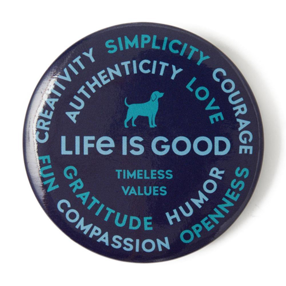 Superpowers Dog Positive Pin