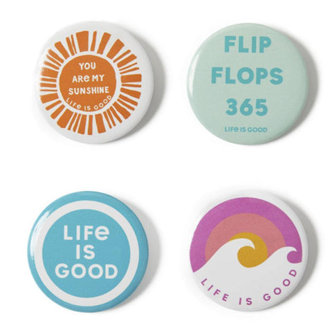 Flip Flops 365 Positive Pins 4-Pack - Kitty Hawk Kites Online Store