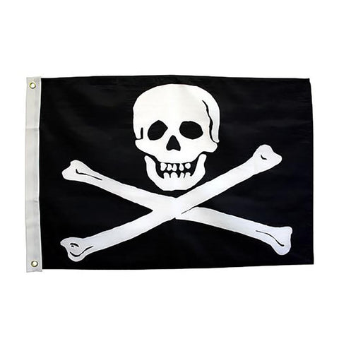 Jolly Roger 3x5 Grommet Flag