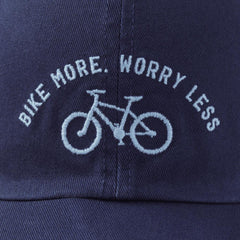 Bike More Worry Less Chill Cap - Kitty Hawk Kites Online Store