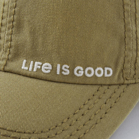 Life is Good Branded Sunwashed Chill Cap - Kitty Hawk Kites Online Store