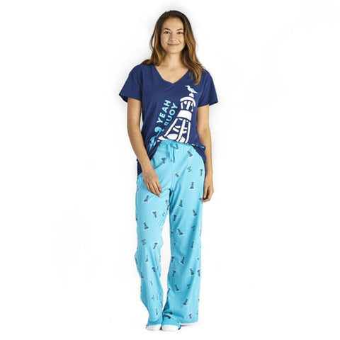 Women's Yeah Buoy Snuggle Up Relaxed Sleep Vee
