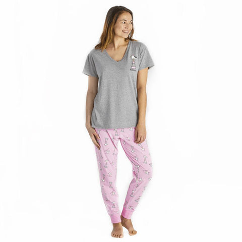 Women's Time Out Gull Snuggle Up Relaxed Sleep Vee - Kitty Hawk Kites Online Store