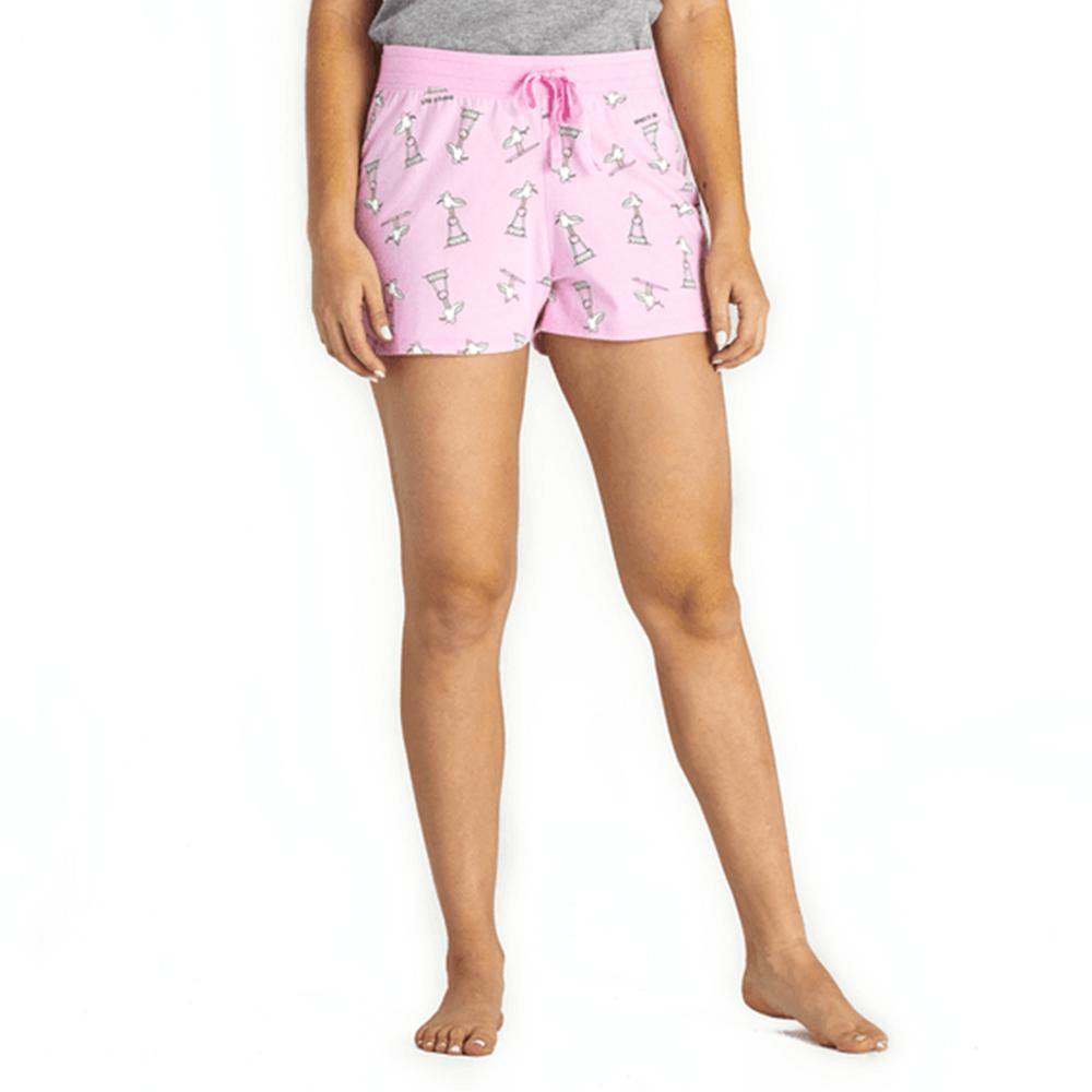Women's Gull Print Sleep Short - Kitty Hawk Kites Online Store