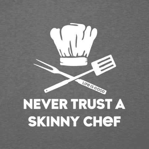 Men's Skinny Chef Cool Tee - Kitty Hawk Kites Online Store
