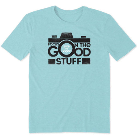 Men's Focus on the Good Camera Cool Tee - Kitty Hawk Kites Online Store