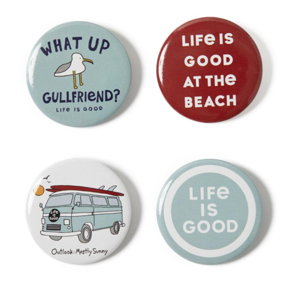 Gullfriend Positive Pins 4-Pack